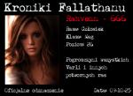 Sygnatura Kronik Fallathanu